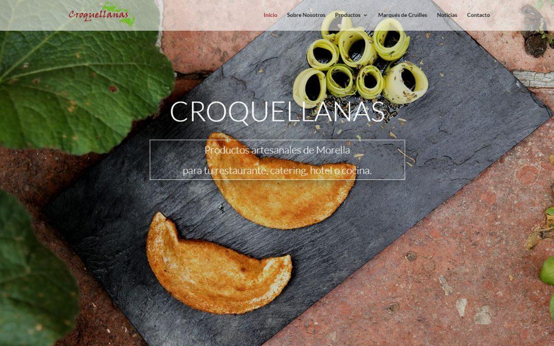 Croquellanas estrena página web y se hace más digital