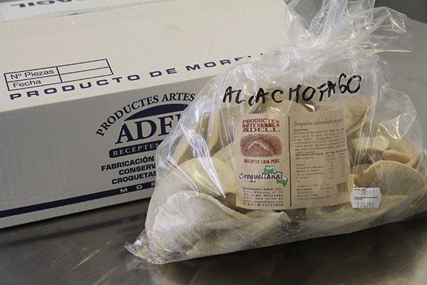 Envase Croquellanas alcachofas