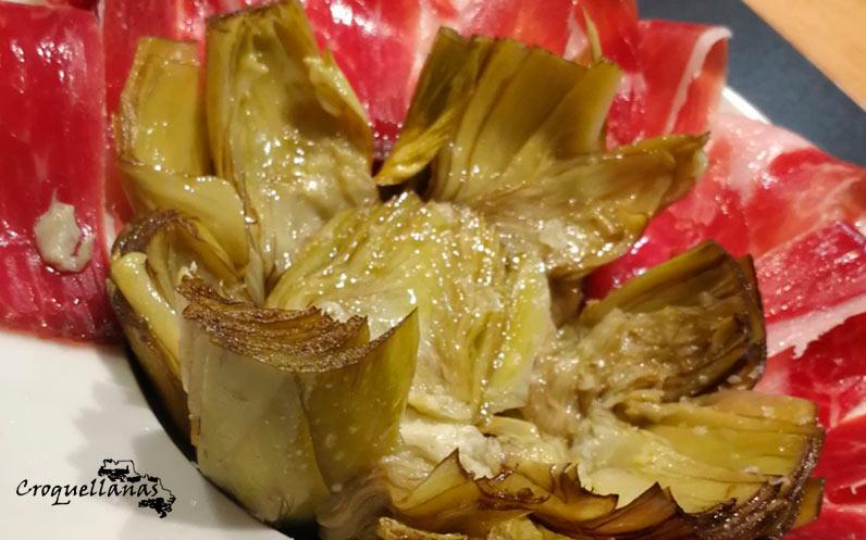 Nuevas alcachofas en aceite de Croquellanas