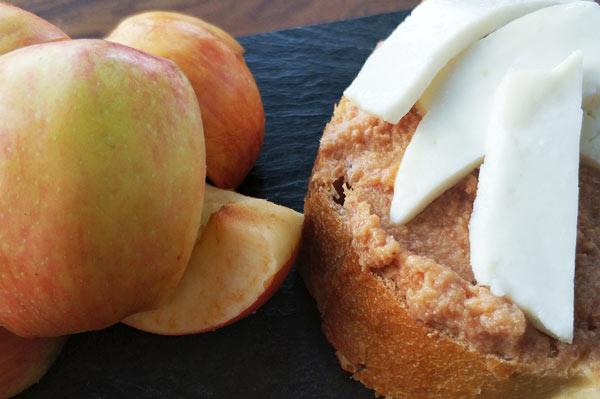 pate-jamon-foie-croquellanas-aperitivo-queso-manzana