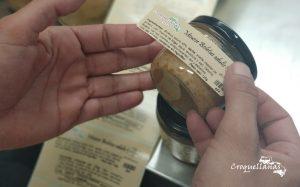 Etiquetando mousses de boletus edulis