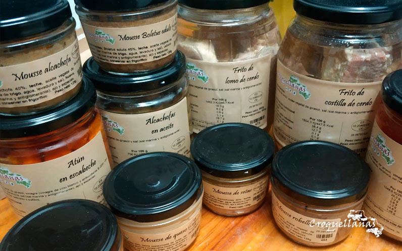 Oferta pack de conservas Croquellanas