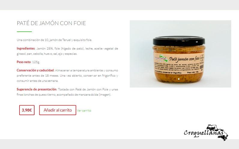 Croquellanas estrena tienda online