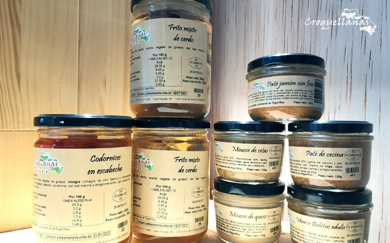 Nueva oferta otoñal: pack de conservas Croquellanas