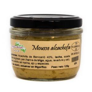 Mousse alcachofa 1