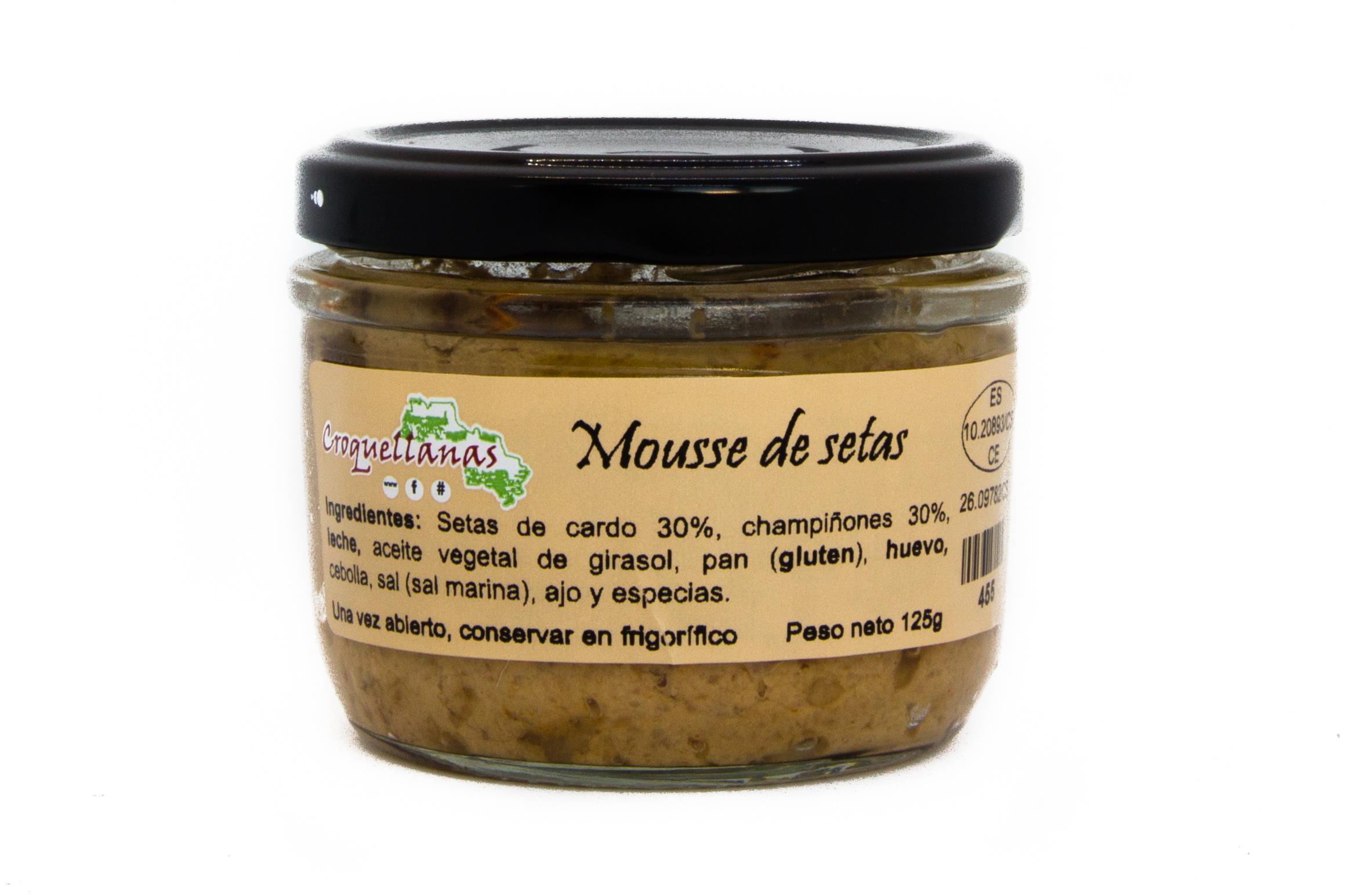 Mousse setas de cardo y champiñones 1