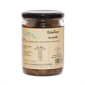 Robellones en aceite pequeño 1